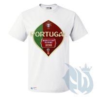 Фанатская футболка PORTUGAL WORLD CUP 2018